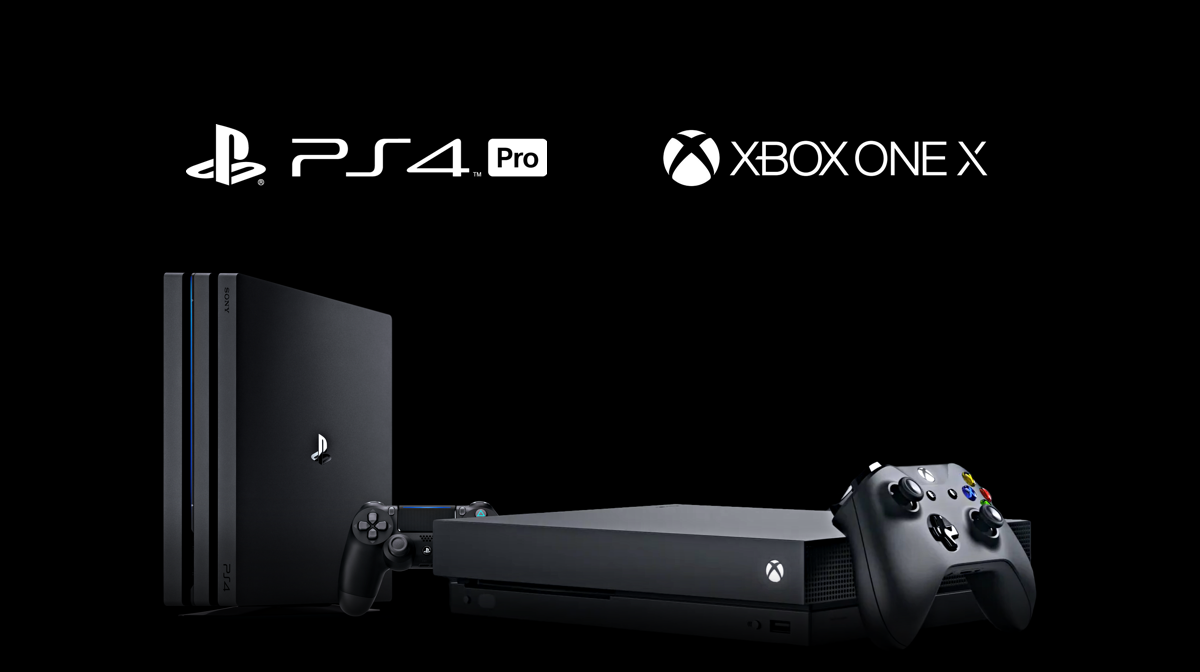 Xbox ONE X vs PS 4 Pro